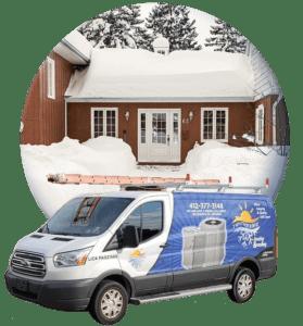 service van winter